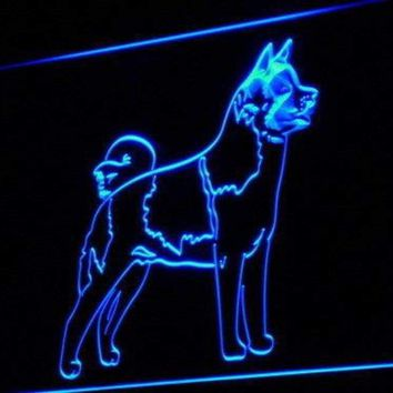 Akita Dog Neon Sign (LED)