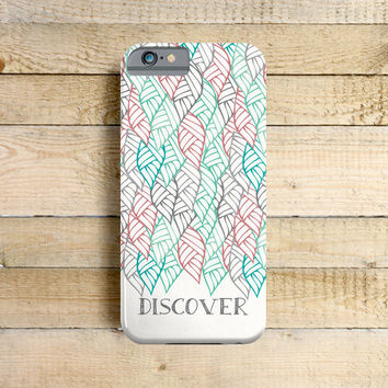 Discover Nature - Phone Case for iPhone 4, 5, 5c, 6 Samsung Galaxy S3 & S4