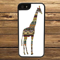 Aztec Patterned Giraffe Case - iPhone 6, iPhone 6 Plus, iPhone 5/5S, iPhone 5C, iPhone 4/4S, iPod 4/5, Samsung Galaxy S3, S4, or S5