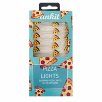Battery Powered Pizza String Lights