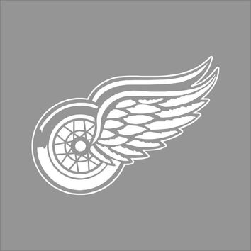 Car styling for Detroit Red Wings NHL Team Logo Color Vinyl Decal Sticker Car Window Wall