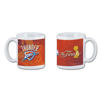 National Design 11Oz Coffee Mug - Oklahoma City Thunder 2012 Finals