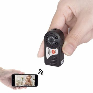 Mini Surveillance Camera With Night Vision for iPhone/Android
