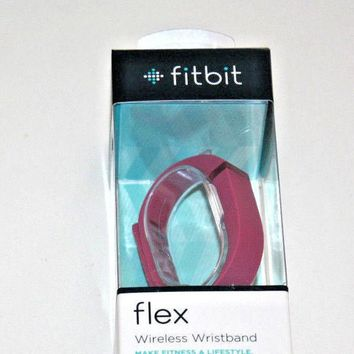 Fitbit Flex Wireless Activity and Sleep Tracker Wristband -VIOLET FB401VT - NEW