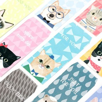 5 pcs/pack Cute Cat Novelty Envelope Letter Paper Message Card Letter Stationary Storage Paper Gift