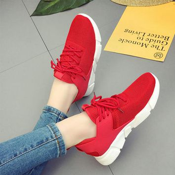 Spring 2018 Women sneakers shoes fashion men sneakers air mesh female vulcanize shoes tenis feminino zapatos de mujer