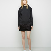 Silk Twill Ripstop Shorts by T by Alexander Wang