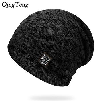 Mens Winter Hat Casual Brand Knitted Ladies Hats Beanies Stockin 72b1a0571