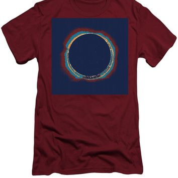 Solar Eclipse By Hinode Observes, Nasa 3 - Men's T-Shirt (Athletic Fit)