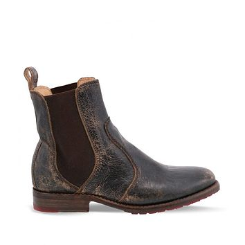 Women's Low Chunky Heeled Ankle Chelsea Boots