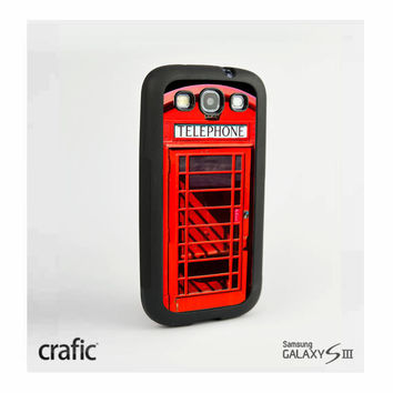 British Phone Booth Case Samsung i9300 Galaxy S3 III
