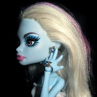 """Doll Jewelry for Monster high doll or Ever after high doll set """"Crystal Flower"""""""