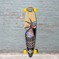 Punked Bird 40 inches Natural Pintail Longboard