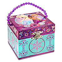 Anna and Elsa Musical Jewelry Box - Frozen