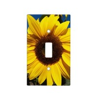 Sunny Sunflower Light Switch Cover