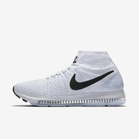 The Nike Air Zoom All Out Flyknit Women's Running Shoe.