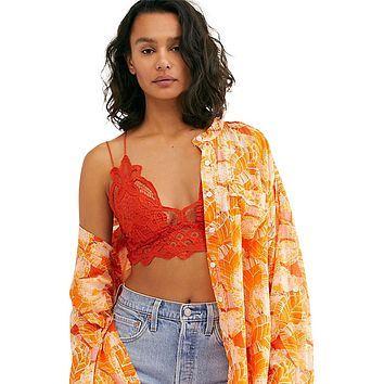 Adella Bralette Burnt Orange