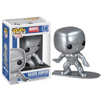 Silver Surfer Pop Heroes Bobble-Head Vinyl Figure