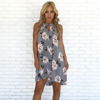 Sunday Brunch Floral Shift Dress