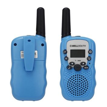 2pcs Wireless Walkie-talkie Eight Channel 2 Way Radio Intercom Toy