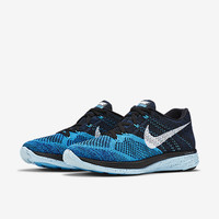 The Nike Flyknit Lunar 3 Men's Running Shoe.
