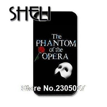 SHELI The Phantom of the Opera cellphone Case Cover for iphone 5s 5c SE 6 6s 6plus 7 7plus Samsung galaxy  s3 s4 s5 s6 s7 edge