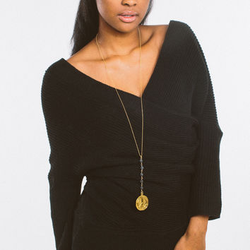 Easy Going Off The Shoulder Sweater - Black