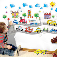 kids cars fire truck police car ice cream van bus by babygraphics