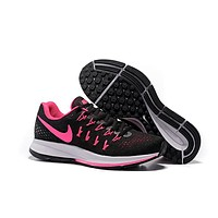 """""""Nike Air Zoom Pegasus 33"""" Women Sport Casual Multicolor Fly Knit Sneakers Running Shoes"""