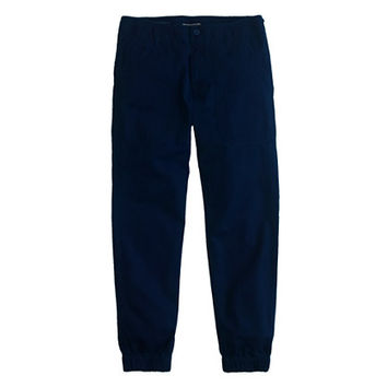 J.Crew Mens Wallace & Barnes Indigo Pilot Pant In Japanese Cotton
