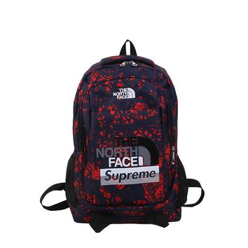 supreme and north face backpack Unisex Fashion Rucksack Laptop Travel Bag College Bookbag