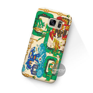 Art Work Mayan Pokemon Samsung Galaxy Case Cover Series