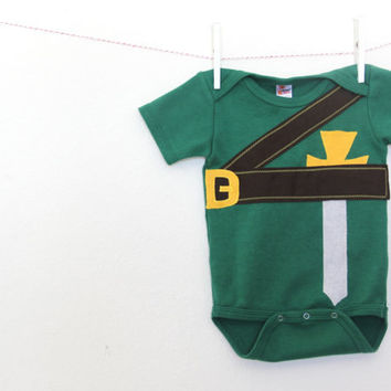 Baby Halloween Bodysuit, Video Game Bodysuit, Halloween Costume