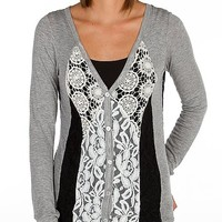 Daytrip Pieced Lace Cardigan - Women's Shirts/Tops | Buckle