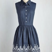 Drive-In Film Fest Dress | Mod Retro Vintage Dresses | ModCloth.com