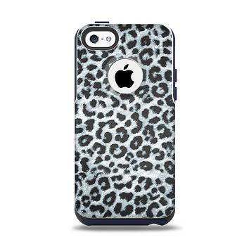 The Real Leopard Animal Print Apple iPhone 5c Otterbox Commuter Case Skin Set