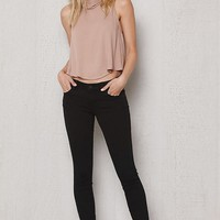 PacSun Navy Dreamy Jeggings at PacSun.com