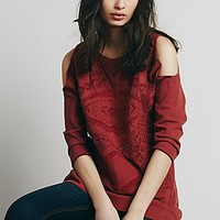 Free People Womens Pretty Day Pullover