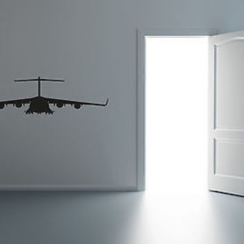 Wall Mural Vinyl Decal Sticker Air Force Logo Helicopter Airplane R117