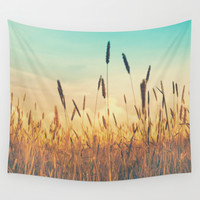 Sky Wall Tapestry by Monika Strigel