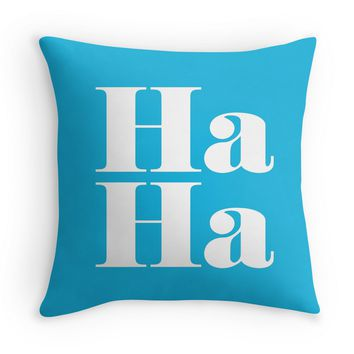 Ha Ha - Decor Pillow (more colors)