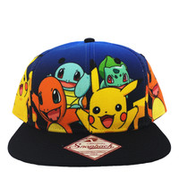 Pokemon - Group Gradient Snapback