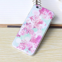 Flower Case Ultrathin Cover for iPhone 6 6s Plus