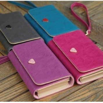 Phone Korean Lovely Multi-functioned Purse [6582007431]