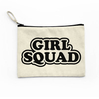 Girl Squad Canvas Pouch