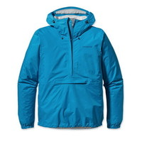 Patagonia Men's Torrentshell Waterproof/Breathable Rain Pullover in Larimar Blue (83931-LRM)