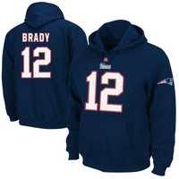 Tom Brady New England Patriots Eligible Receiver Hoodie - Navy Blue
