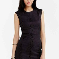 Shilla Mirage Snake Dress- Black