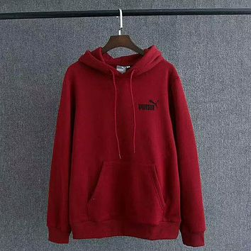 PUMA Lover Fashion Cashmere Hoodie Top Sweater Pullover