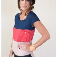Candy Stripes Shirt - Tops - Apparel | Sugar and Sequins